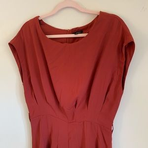 Topshop Pants - ETopShopO Rust Red Short Sleeve Romper Size 6